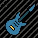 electric guitar, guitar, music, rock, instrument, string