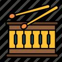 beat, drum, instrument, snare, drumsticks, percussion, music