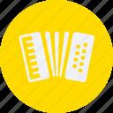 accordion, audio, instrument, multimedia, music icon