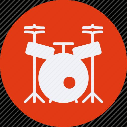 audio, drum, instrument, multimedia, music icon