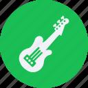 audio, electric, guitar, instrument, multimedia, music icon