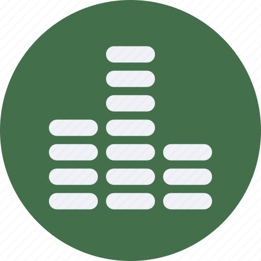 audio, equalizer, instrument, multimedia, music icon