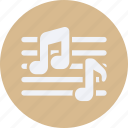 audio, instrument, multimedia, music, note icon