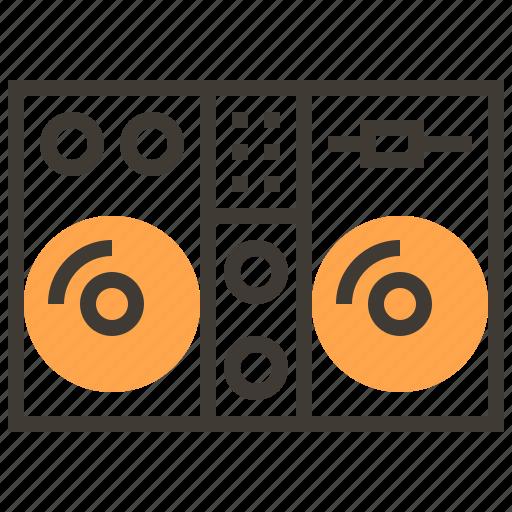 disco, dj, instruments, music, orchestra, rhythm, sound icon