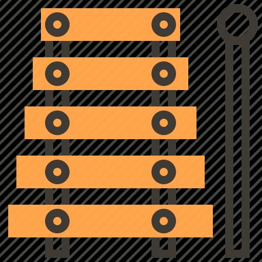 instruments, music, orchestra, rhythm, sound, tambourine icon