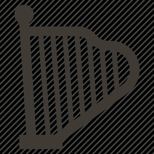 harp, instruments, music, orchestra, rhythm, solid, sound icon