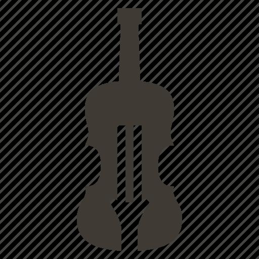 instruments, music, orchestra, rhythm, solid, sound, violin icon