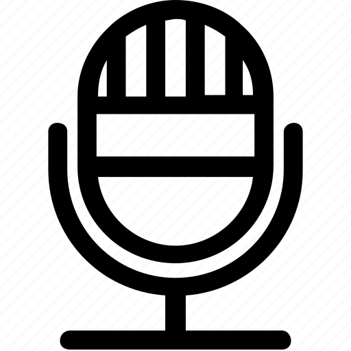 audio, mic, microphone, music, record icon
