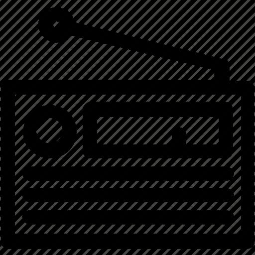 antenna, audio, mp3, music, play, radio, wireless icon