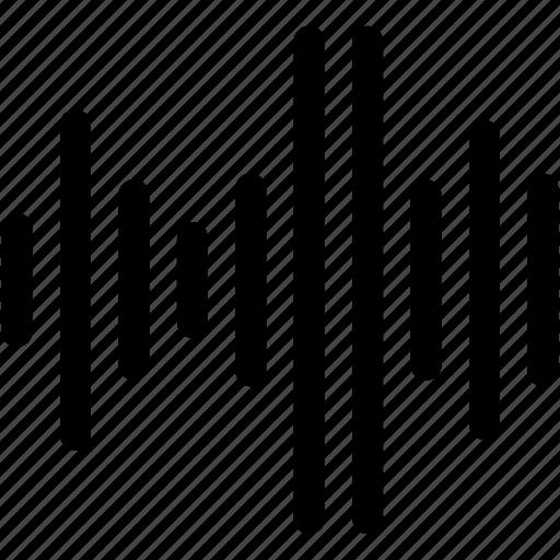 audio, multimedia, music, sound, waves icon