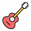 acoustic, guitar, guitarm, instrument, music