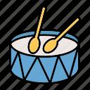 drum, drumsticks, multimedia, music, percussion