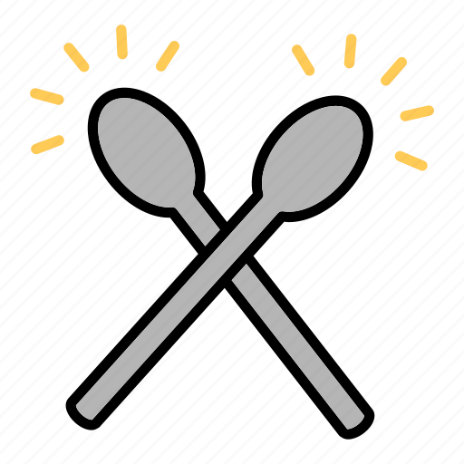 Drumsticks, music, sing, song, sound icon - Download on Iconfinder