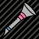 flute, instrument, music, wind icon