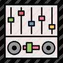 instrument, mixer, music, speaker