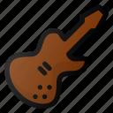 jazz, guitar, electric, music, instrument