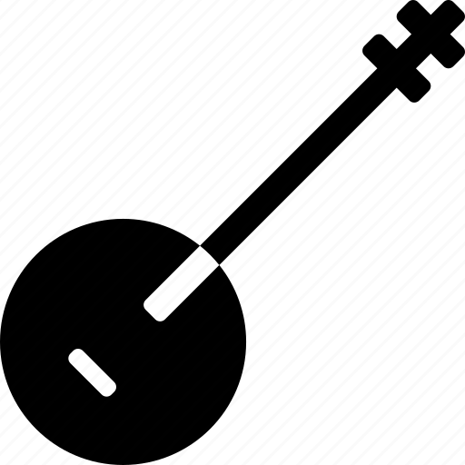banjo, concert, country, folk, music icon