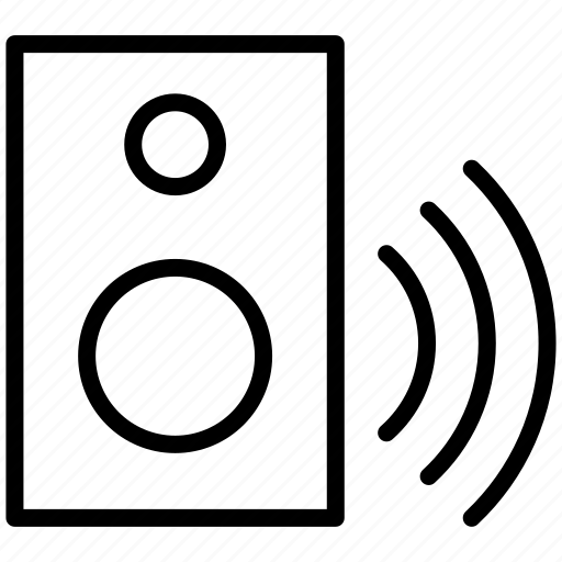 audio, control, creative, loud, media, music, play, player, sound, speaker, speakers, volume, woofer icon