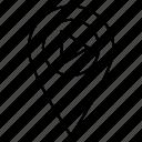 pin, map, location