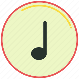 music, musical, note, notes, signs, sing, song icon