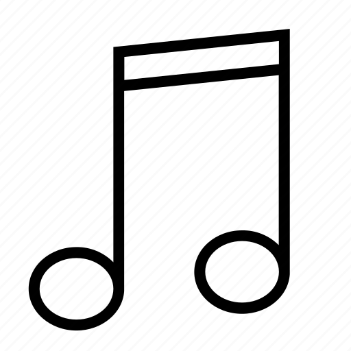 media, music, note, player, song icon