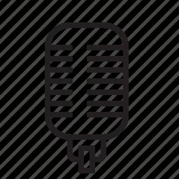 audio, mic, microphone, music, record, sound, studio icon
