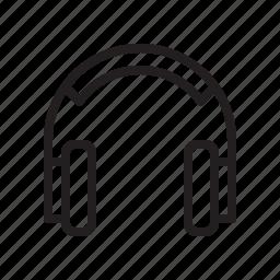 audio, earphone, headset, music, song, sound, speaker icon