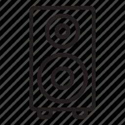 amp, audio, music, song, sound, speaker icon