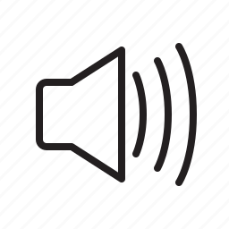 audio, computer, music, sound, volume icon