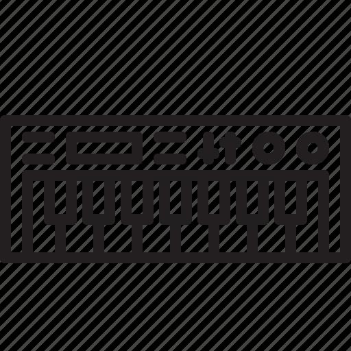 audio, dj, instrument, keyboard, music, sound icon