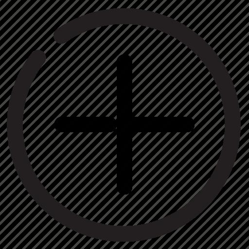 add, circle, more, new, plus icon
