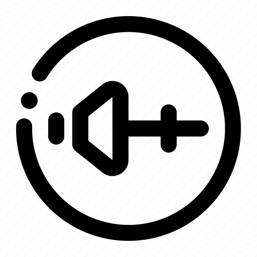 media, music, player, setting, volume icon