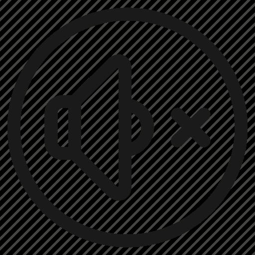 Music, audio, media, player, silent, speaker, volume icon - Download on Iconfinder
