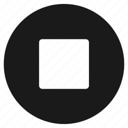audio, multimedia, music, play, sound, speaker, stop icon