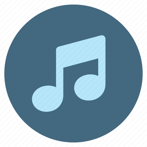 audio, media, music, note, play, player, song icon