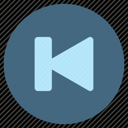 audio, multimedia, music, play, player, rewind, volume icon
