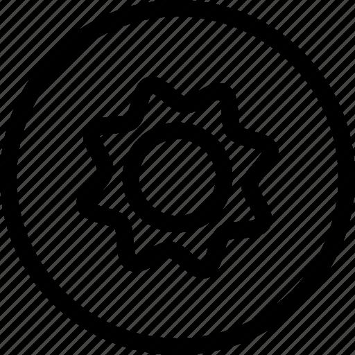 cog, gear, settings, setup icon