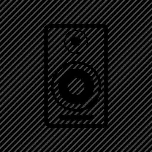 audio, music, sound, speaker, studio, woofer icon
