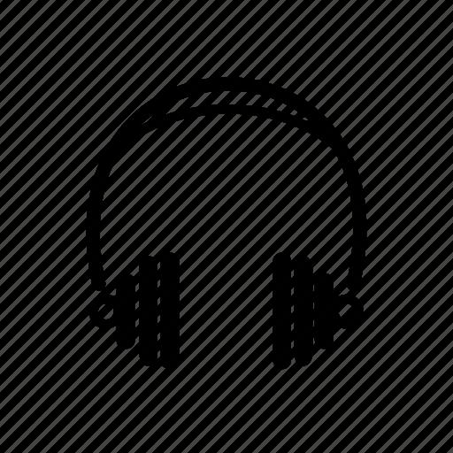 audio, headphones, monitor, music, sound, studio icon