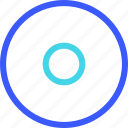 25px, iconspace, record icon
