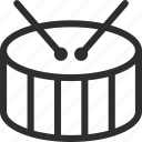 25px, drum, iconspace icon