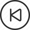 25px, iconspace, previous icon