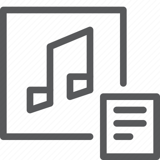 audio, list, media, music, play, set, sound icon