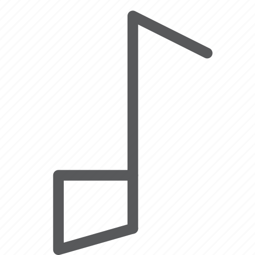 audio, file, media, music, note, play, sound icon