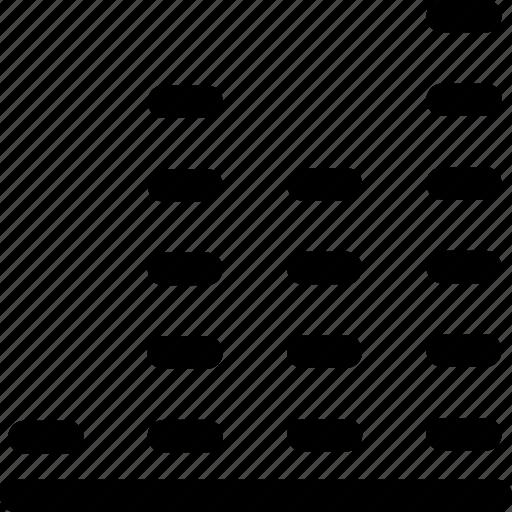 graph, level, signal, statistics, stats, volume icon