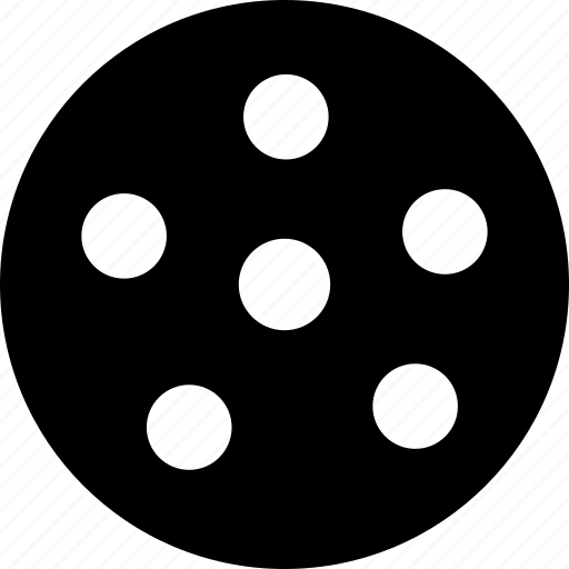 film, footage, reel, storage icon