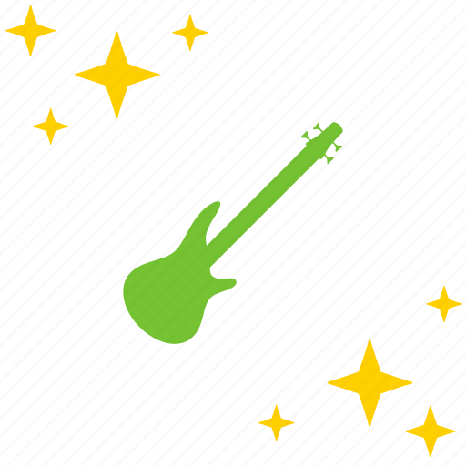 electric, guitar, instrument, music, show icon