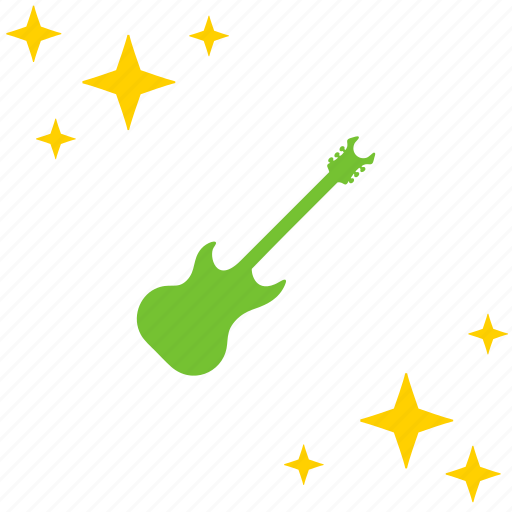 electic, guitar, instrument, music, rock icon