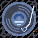 audio, gramophone, music, record, vinyl icon