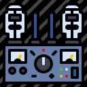 amplifier, audio, audiophile, music, studio